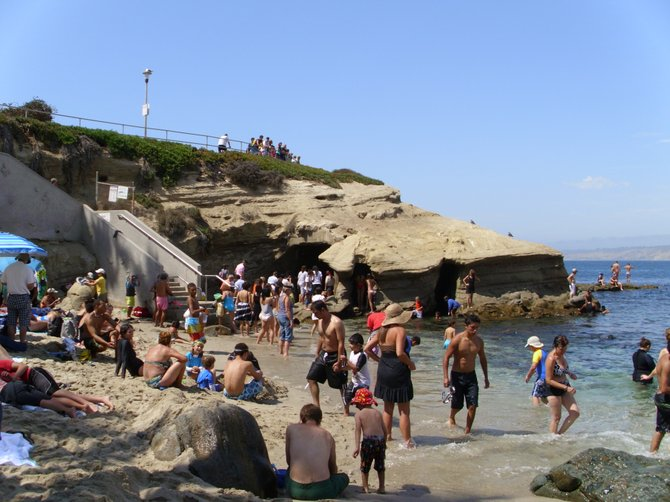 A Summer's Day at LaJolla Cove
