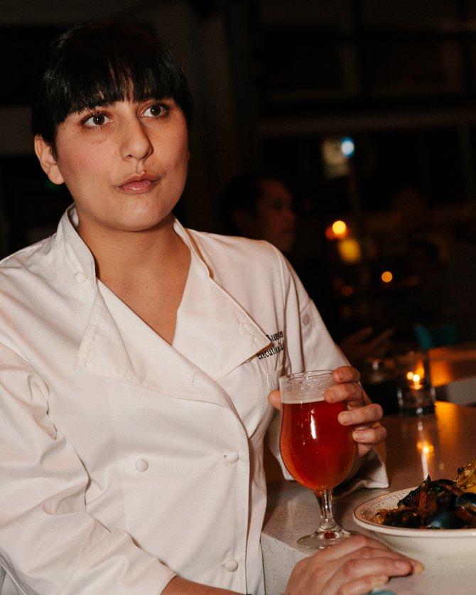 Waypoint Public executive chef Amanda Baumgarten. Photo courtesy Tyler Graham.