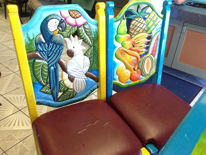 If not for photographic proof, I'm not sure I'd believe these chairs truly exist anywhere but the imagination.