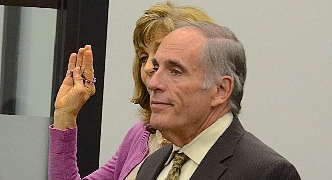 Darling effectively hid behind her defense attorney, Herb Weston