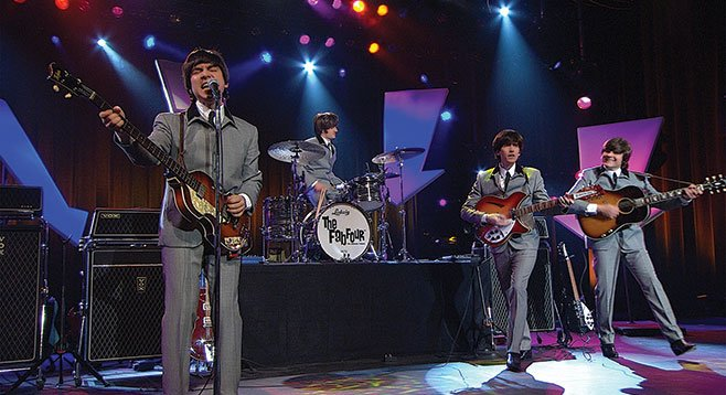 Orange County–based Beatles impersonators the Fab Four are the closest you'll see to a local act at the Del Mar Fair this summer.