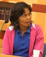 Marlene in court.