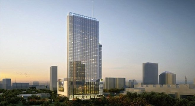 Latest architectural rendering of Manchester's Austin hotel