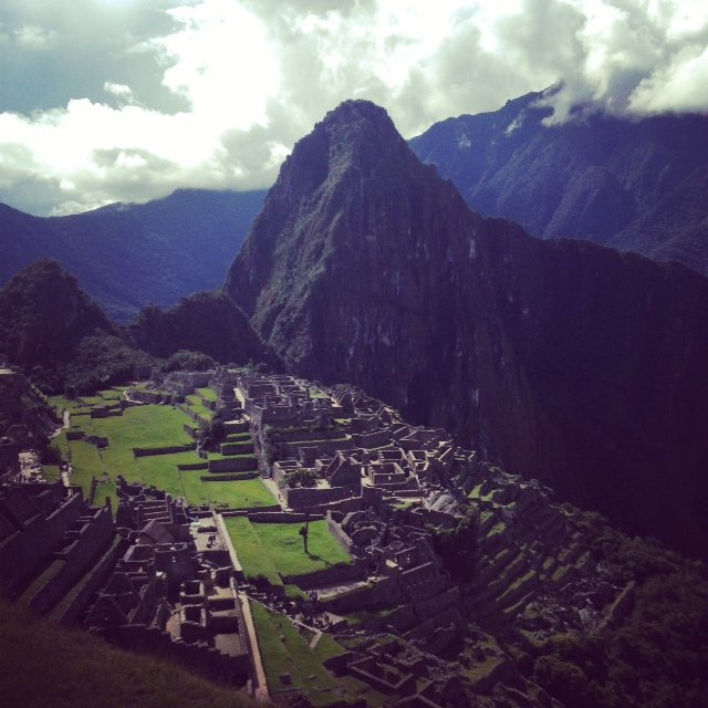 Mchu Picchu for the fifth time