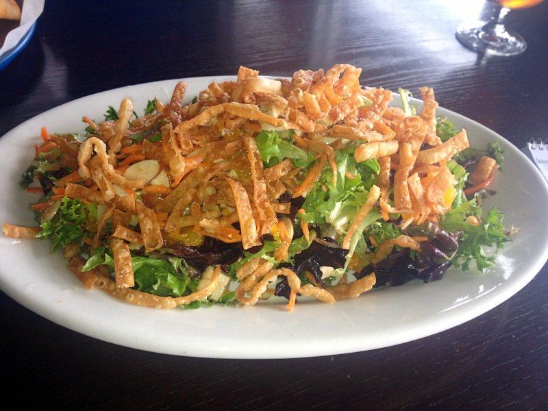 Chinese chicken salad, Bruski's.