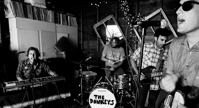 The Donkeys leave off the songs that are...too rock and roll.