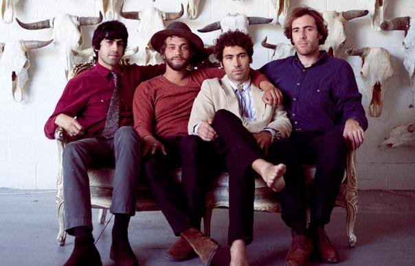 Garage-pop four-piece the Allah-Las take the Belly Up stage Tuesday night.