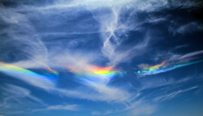 Mysterious rainbow seen from every spot in San Diego, CA