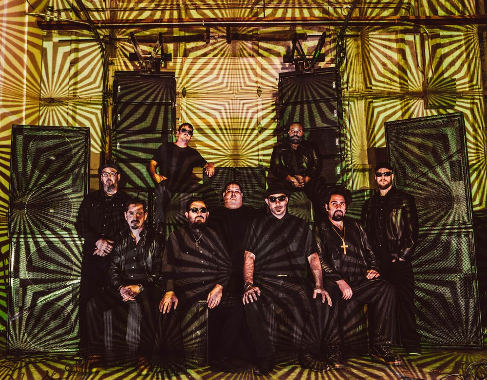 The nine-man tribute band Brown Sabbath plays Casbah on Sunday.