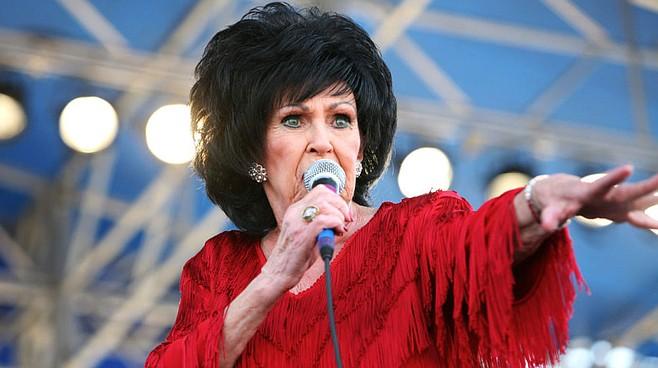 Rockabilly royalty Wanda Jackson graces the stage at Casbah Saturday night.