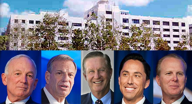 Sanders hired them. Filner fired them. Manchester schemed with them. Gloria rehired them. Faulconer fired them.