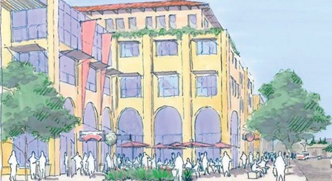 It's hard to keep tuition costs down when you need  $143 million to build housing for 659 students, 35,000 square feet of retail space, and a seven-story parking structure.