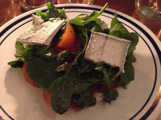 Tomato salad, so good I ordered it again on my next visit
