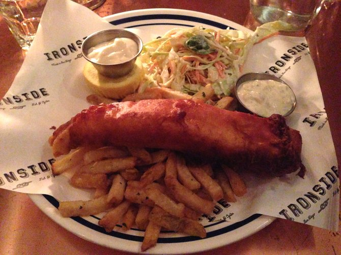 Fish and chips, a must try