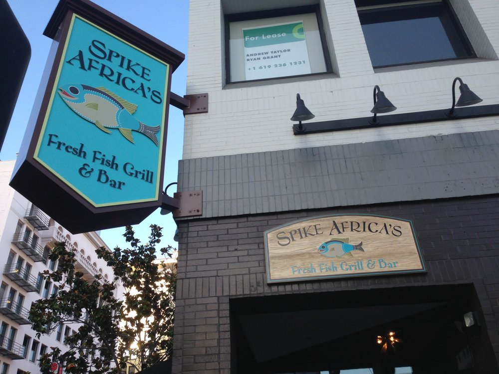 Spike Africa's in the Gaslamp