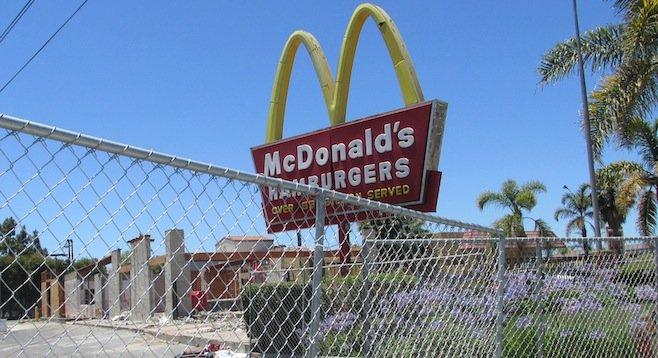 Oceanside McDonald's