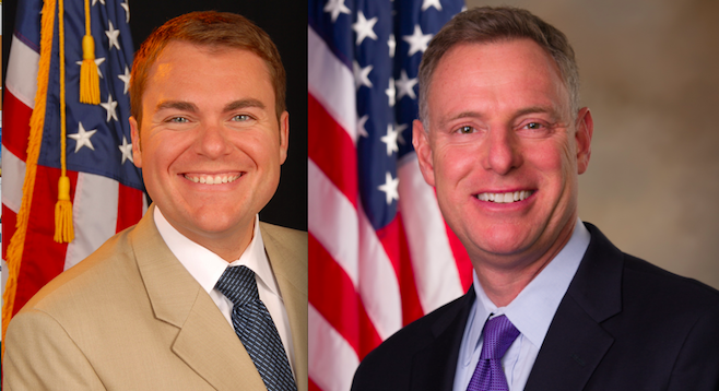 Carl DeMaio and Scott Peters
