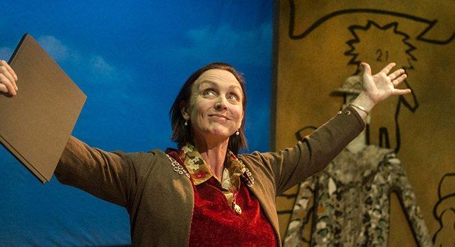 Linda Libby as Molly in Milvotchkee, Visconsin at Mo`olelo