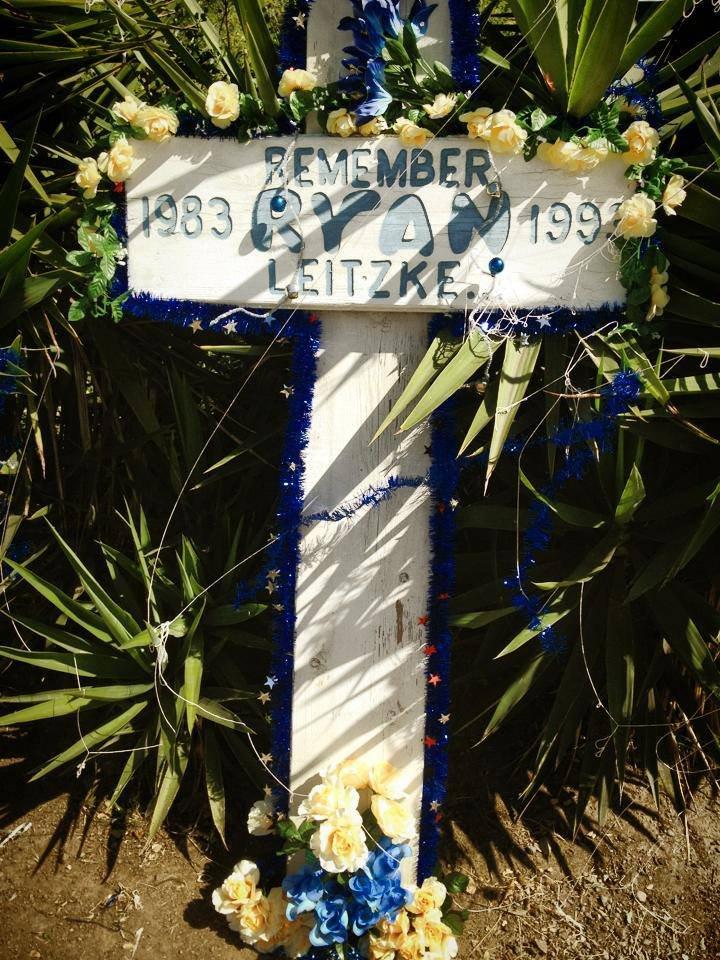 Backyard memorial
