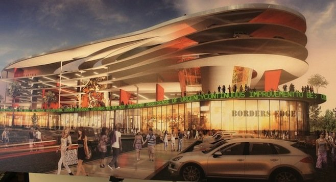 Shopping! Parking! (Design for Duty Free Americas structure at the San Ysidro border)
