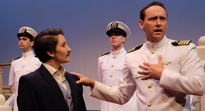 In Lamb's Players Twelfth Night, the Shakespeare farce moves from Illyria to 1940s Coronado.