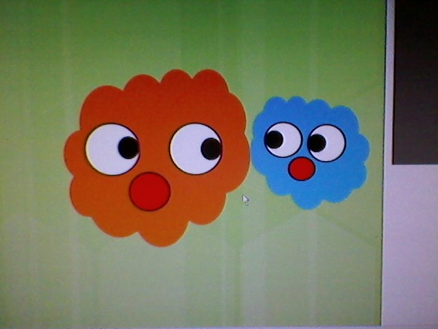 Nick Jr. logo - recreated in Paint by Anthony. Good job!