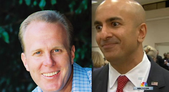 Kevin Faulconer and Neel Kashkari