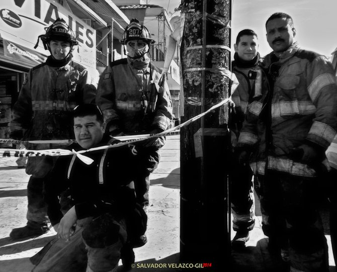 Neighborhood Photos TIJUANA,BAJA CALIFORNIA Tijuana´s firemen / Los bomberos de Tijuana