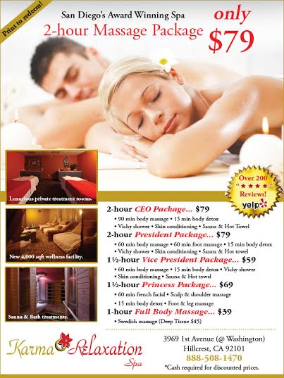 Karma Relaxation Spa Coupon
