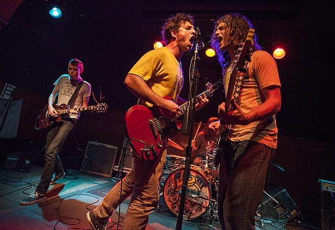 Raucous Southern rocker Lee Bains III & the Glory Fires light up Soda Bar Sunday night!