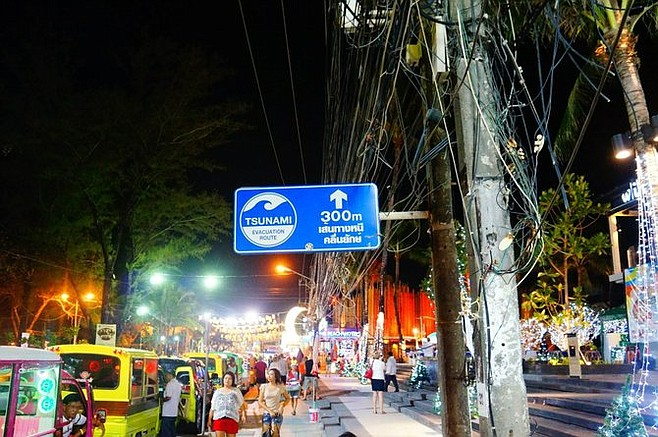 Recovered from the tsunami of 2004, Phuket still shows signs of damage but the party lives on.