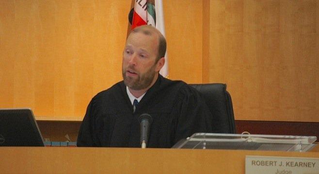 Hon. Judge Robert Kearney presides.