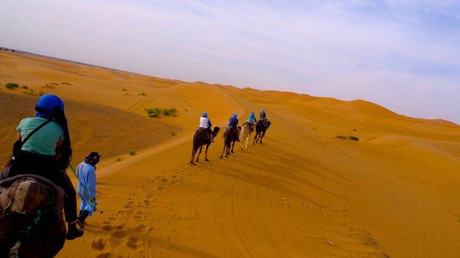 Dead ahead: almost 3000 miles of desert