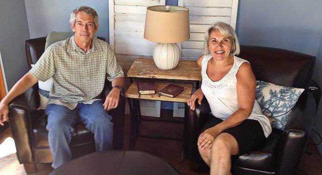 Mark Patterson and Marsha Pecaut