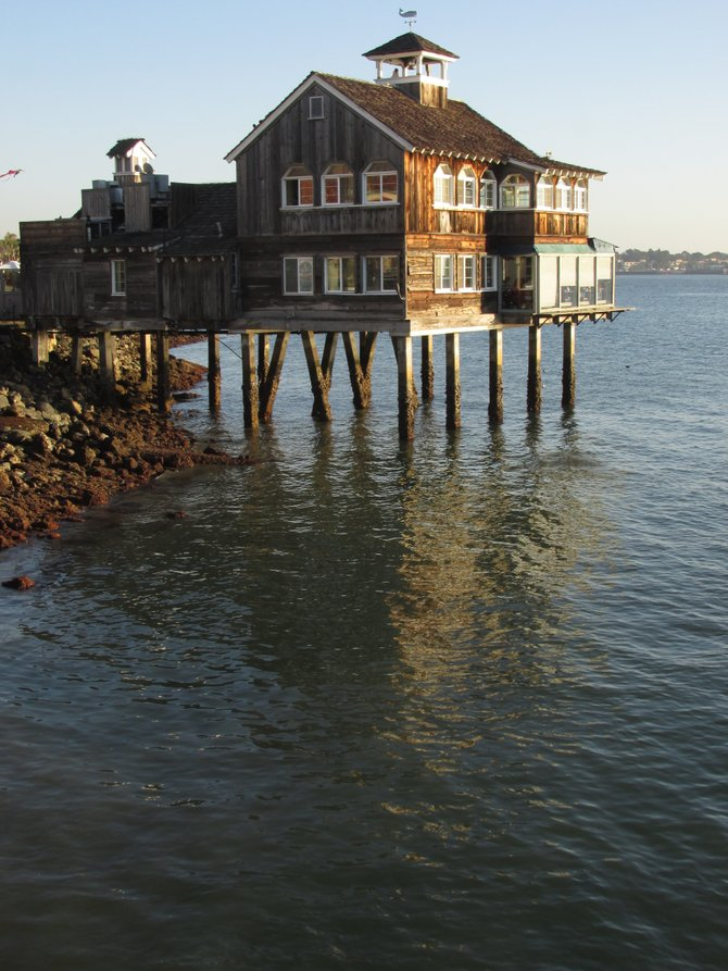 Calm Waters at Sea Port Village, Downtown San Diego.