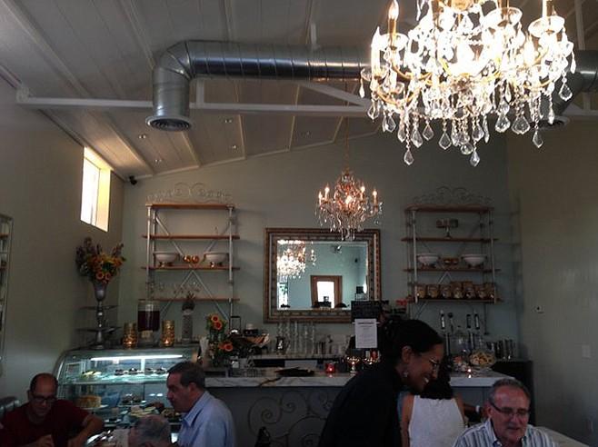 Interior at Hanna's Gourmet