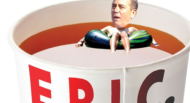 Speaker Boehner is still afloat, thanks in part to 52 grand from Sycuan. Five grand from the tribe wasn't enough to keep Eric Cantor from sinking.