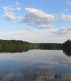 Late Spring afternoon at Bond Lake, North Carolina