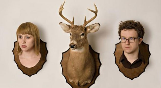 Indie-pop duo Wye Oak take the stage at Belly Up Wednesday behind their new record, Shriek.