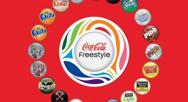 Coca Cola Freestyle Comes To Both Amc Valleys San Diego