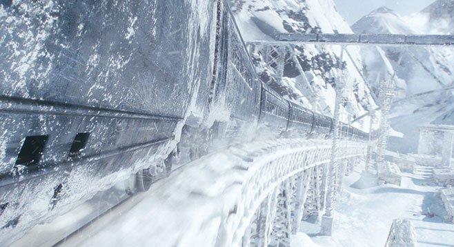 Snowpiercer: Runaway metaphor?