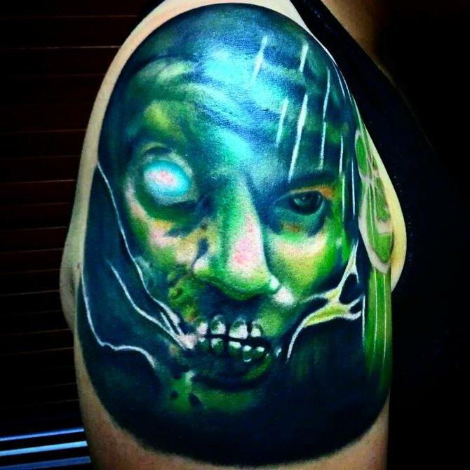 Claudio Sanchez Tattoos