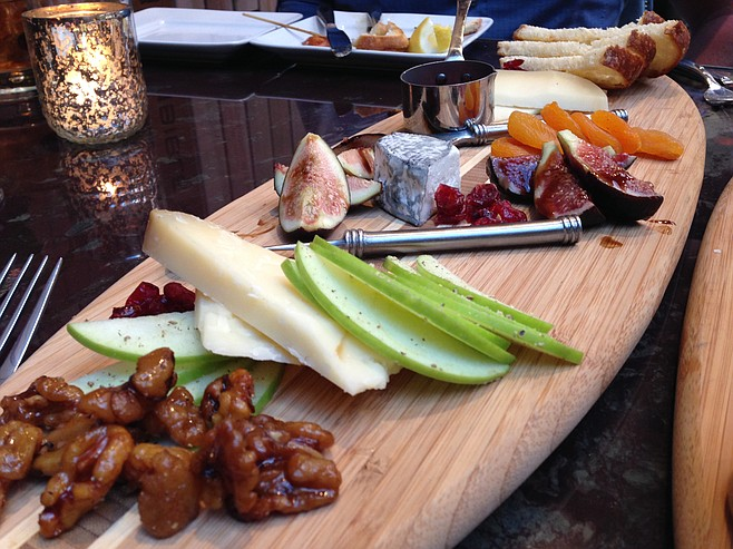 Left Coast cheese board