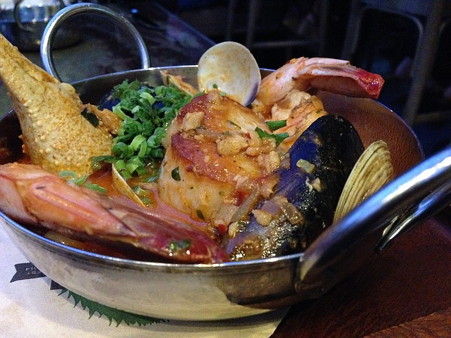 Cioppino, treasure trove of seafood