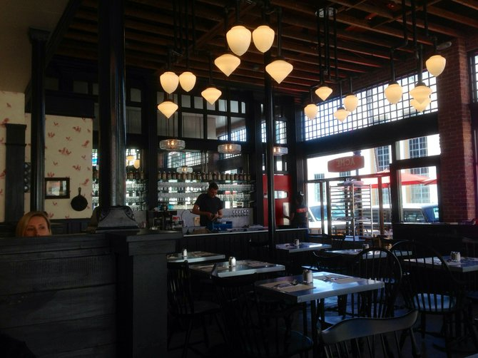 Interior of Acme Southern Kitchen