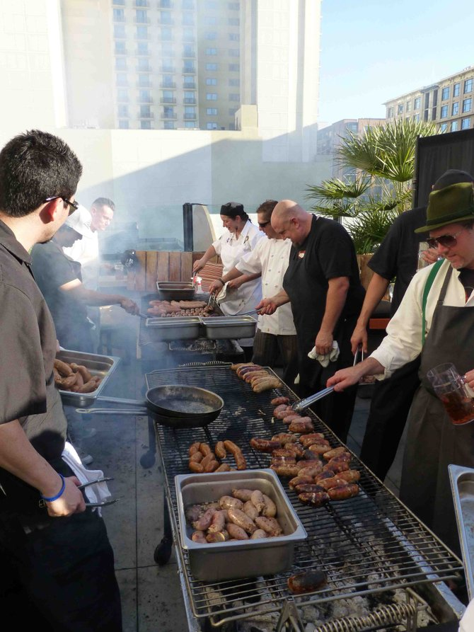 Sausage Fest will be held July 16 at Hotel Solamar between 5:30-8:30 p.m.