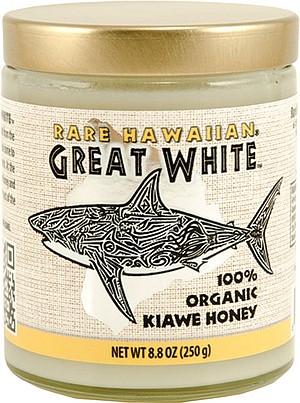 A product of Michael Domeier's Hawaiian honey business