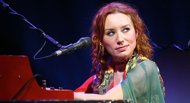 Tori Amos, at 50, appreciates belly-laughs and finds wisdom in her teenage daughter.