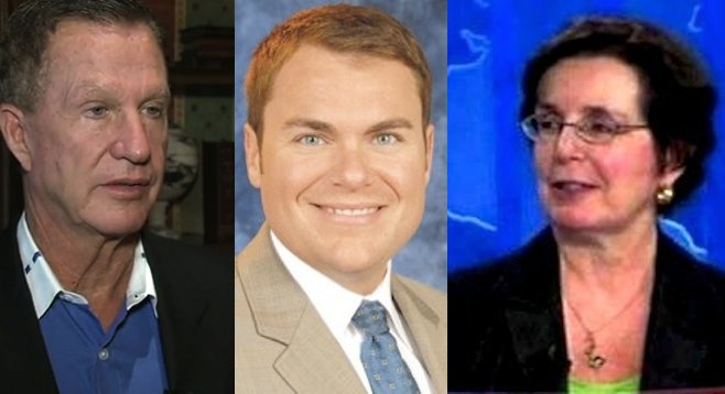Douglas Manchester, Carl DeMaio, April Boling