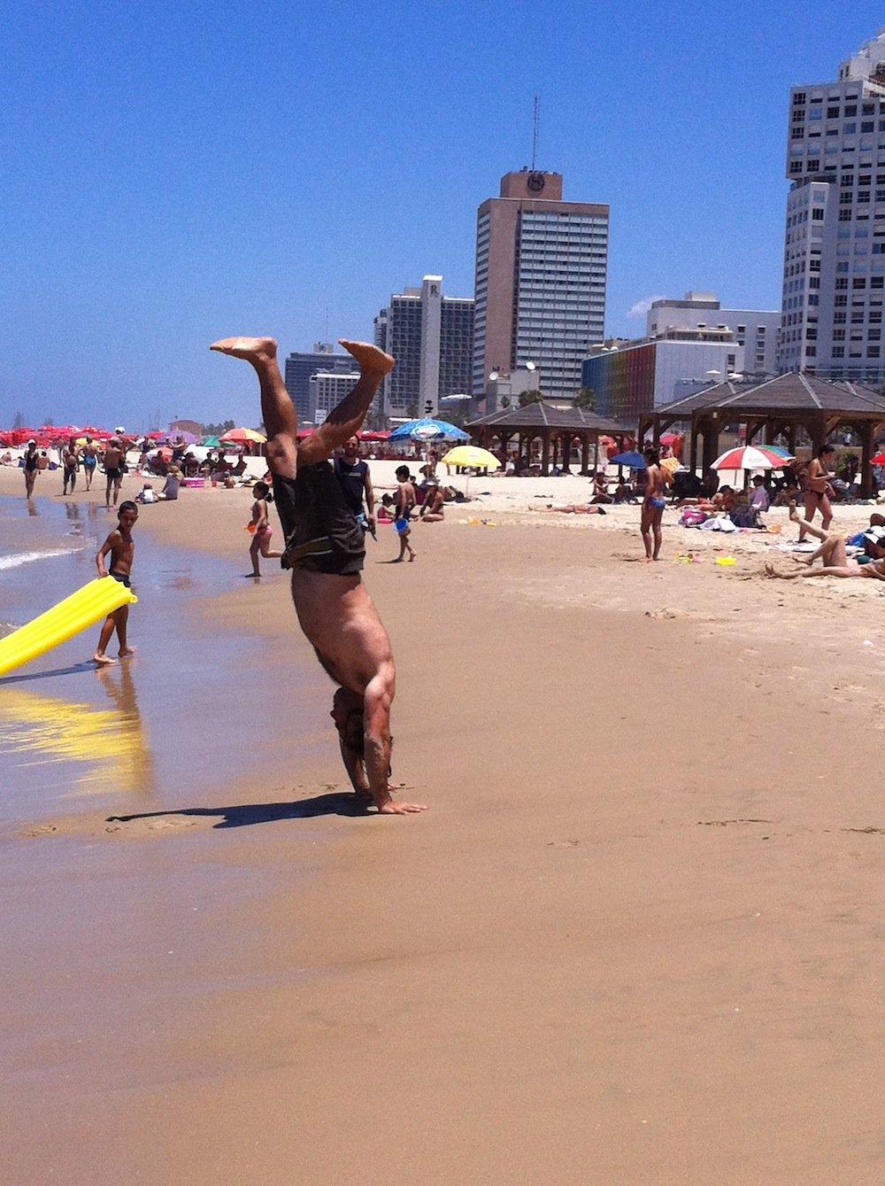 Tel Aviv Beach.